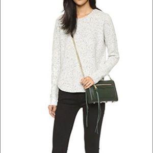 Rebecca Minkoff Green Leather Avery Crossbody Bag